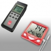 Humidity and temperature measuring devices