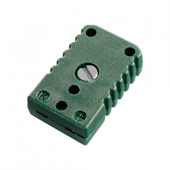 Miniaturkupplung, Typ K, grün