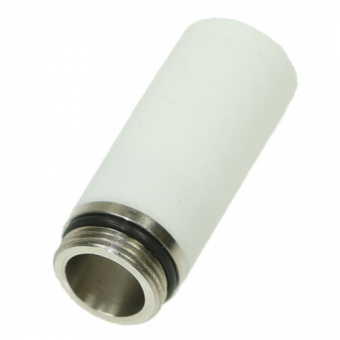 Sintered filter Ø12x30 mm, HD-polyethylen, 25µm