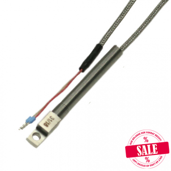 Surface probe 1xPt100/B/2, packing unit: 5 pcs.