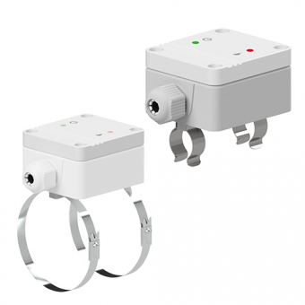Dew point controller for pipes