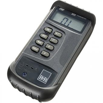 Digitalthermometer zum Anschluss von 1 Thermoelement Typ K