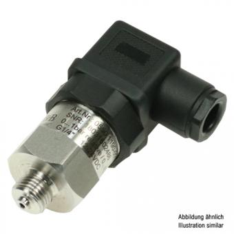 Pressure transmitter with DIN valve connector