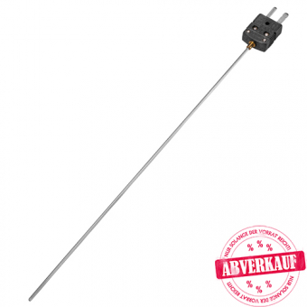 Mineral insulated thermocouple, type J, class 1