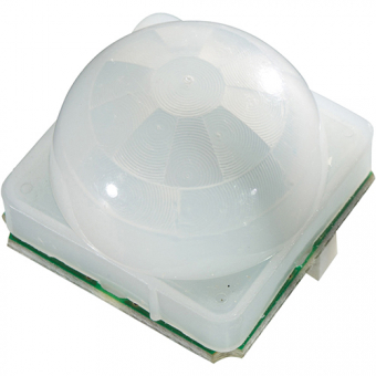 PIR motion sensor with 40µA power consumption