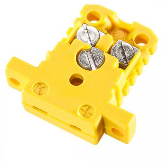 Miniaturdose Typ K, gelb