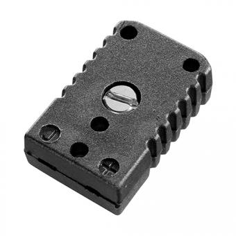 Miniaturkupplung, Typ J, schwarz