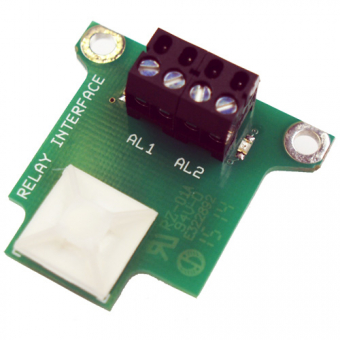 Relay interface board for infrared temperature measuring device
