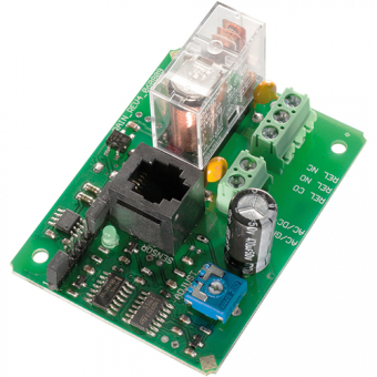 Sensor switching step with impedance evaluation, dew and humidity switching module, 12V
