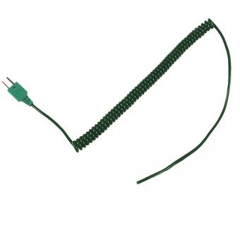 Wendelleitung Typ K, 2x0,10 mm²