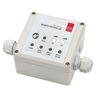 Universal switching module with two-point controller 230 VAC